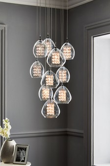Bella 10 Light 10 Light Pendant Cluster