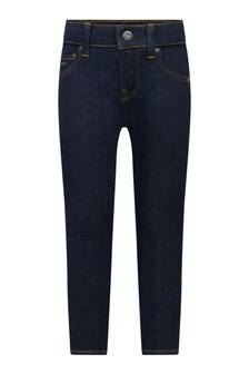 Boys Blue Denim Skinny Jeans