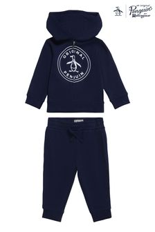 Original Penguin® Blue Pete Hoodie and Jogger Set