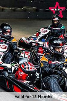 50 Lap Karting Race For Two Gift Experience by Activity Superstore
