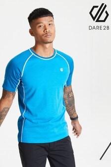 Dare 2b Blue Conflux Wool T-Shirt