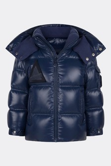 Boys Blue Down Padded Ecrins Jacket