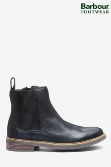 Barbour® Black Farsley Boots