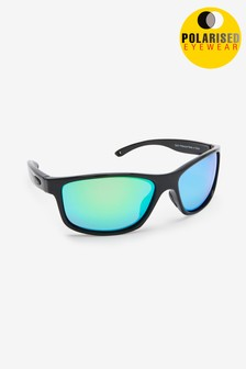 Black Signature Sports Style Sunglasses