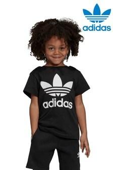 adidas Originals Little Kids Trefoil Tee