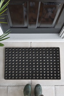 Heart Patio Doormat