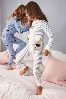 Синий Набор пижамных комплектов облегающего кроя с коалами (2 компл.) (3- 6ccc4d75ec930