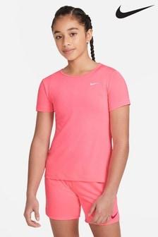 Nike Performance Pink Pro T-Shirt