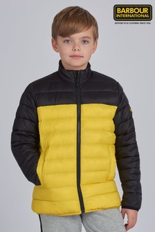 Barbour® International Boys Two Tone Impeller Quilted Jacket