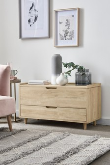Light Oak Oslo Storage Trunk