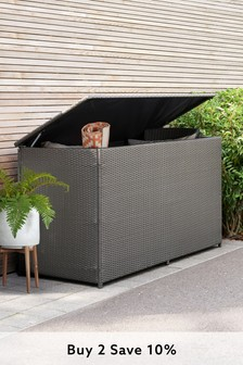 Monaco Dark Grey Storage Box