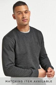 Charcoal Marl Crew Sweatshirt