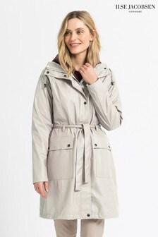 Ilse Jacobsen Cream Raincoat