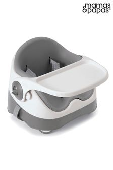 Soft Grey Mamas & Papas Baby Bud Booster Seat