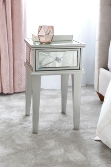 Florence 1 Drawer Bedside Table