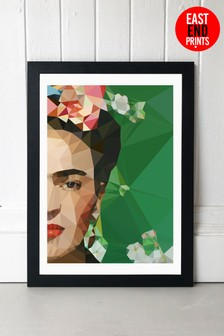 Frida Crop by Studio Cockatoo Framed Print by East End Prints