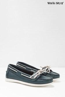 White Stuff Blue Betty Boat Shoes