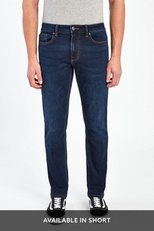 Dark Blue Skinny Fit Motion Flex Stretch Jeans