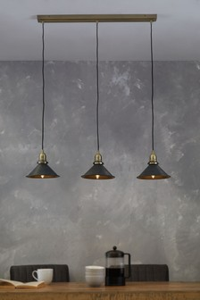 Detroit 3 Light Linear Pendant