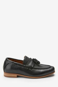 Black Tassel Loafers (Older)
