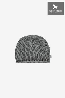 The Little Tailor Grey Baby Knitted Hat