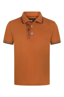 Boys Cotton Pique Polo Top