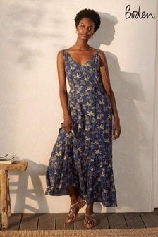 Boden Blue Alicia Maxi Dress