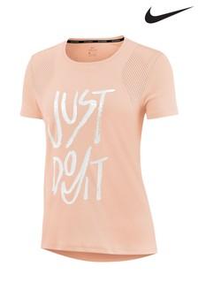5ce867b5336d7 Pink - Nike Run Just Do It Tee ...