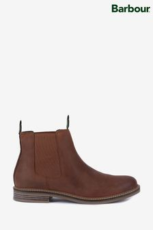 Barbour® Farsley Dark Tan Chelsea Boots