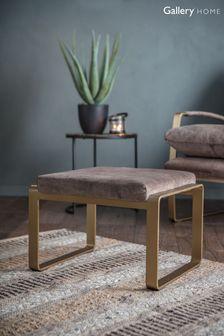 Fabien Mineral Footstool By Hudson Living