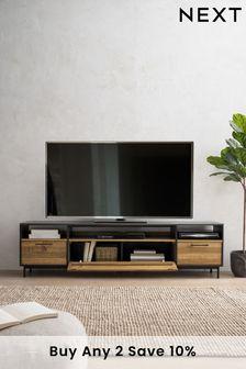 Jefferson Rustic Super Wide TV Stand