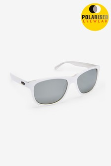 White Signature Sports Style Polarised Sunglasses