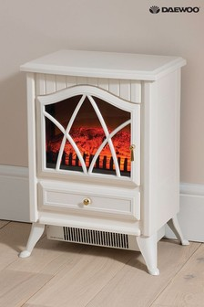Off White Cottage Stove