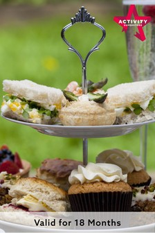 Afternoon Tea With Bubbly For Two Gift Experience by Activity Superstore