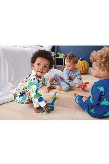 Dinosaur Snuggle Fit Pyjamas Three Pack (9mths-8yrs) 93ce86b32