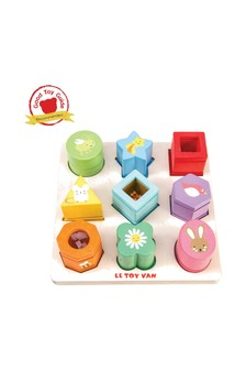 Le Toy Van Wooden Sensory Shapes