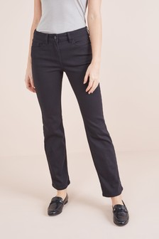 Forever Black Boot Cut Jeans