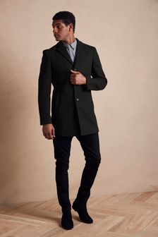 Black Epsom Coat