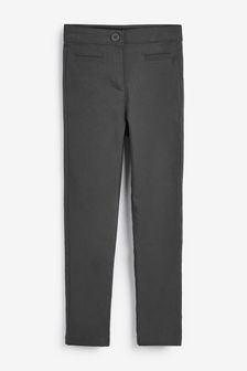 Charcoal Skinny Stretch Trousers (3-16yrs)