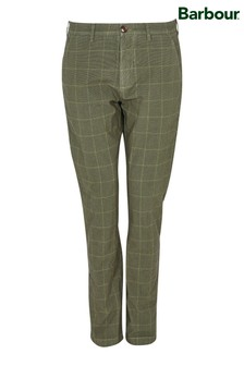 Barbour® Essential Overdyed Check Trousers
