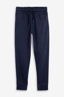 Navy Basic Slim Fit Joggers (3-17yrs)