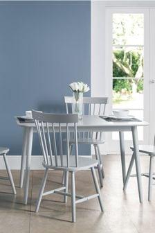 Grey Set Of 2 Julian Bowen Torino Dining Chairs