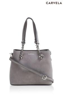 Carvela Grey Mini Camilla Slouch Tote Bag