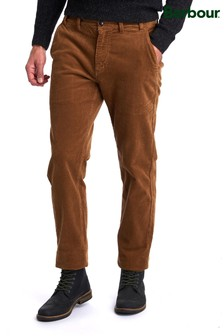 Barbour® Brown Neus Strc Cord Trousers