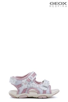Buy Geox Pink Jr Roxanne Sandal from Next Ireland