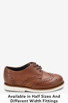 Tan Leather Brogues (Younger)