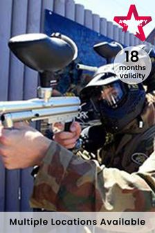 Paintball For Four Gift Experience by Activity Superstore