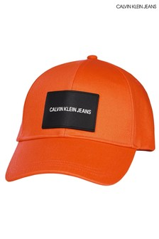Calvin Klein Jeans Orange Patch Cap