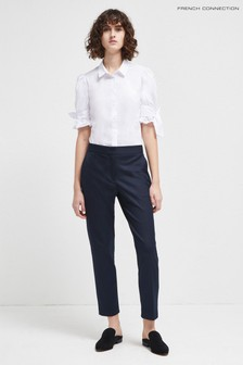 French Connection Blue Whisper Ruth Tailored Trouser
