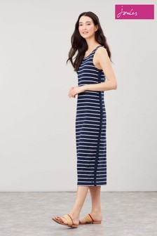 Joules Midi Length Jersey Riva Dress